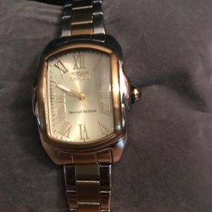 Invicta Stainless Steel Ladies Two Tone Watch